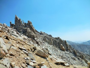Another view of Mt Whitney trail