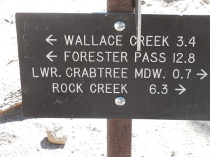crabtree marker sign smaller
