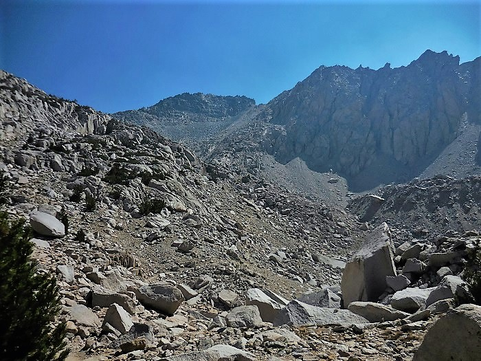 Glen Pass on the John Muir Trail and Pacific Crest Trial