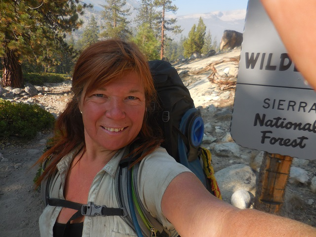 Me on Day 15- somewhere in John Muir Wilderness