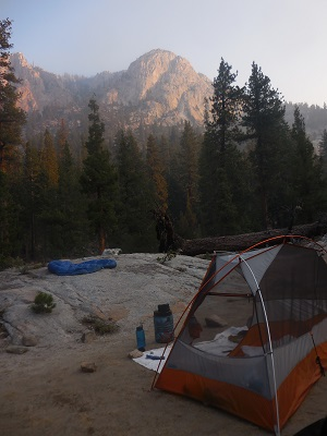 View from Mono Creek Camp