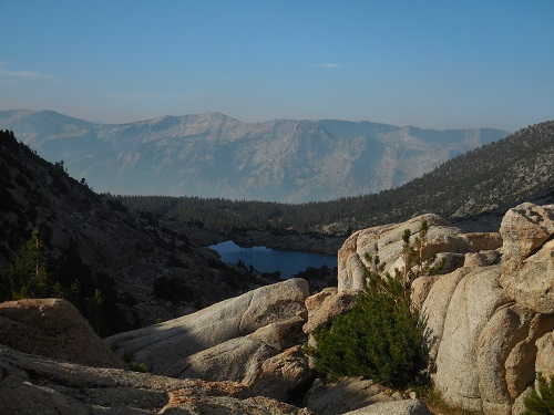 Selden Pass View on the john muir trail