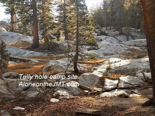 Tully Hole JOhn muir trail