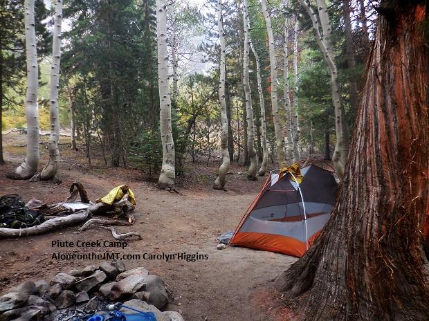 Piute Creek camp near Muir Trail Ranch