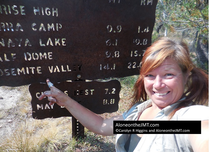 Day 25 Lyell Canyon to Upper Cathedral Lakes via Tuolumne Meadows